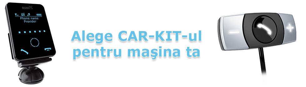 Alege un car-kit pentru masina ta